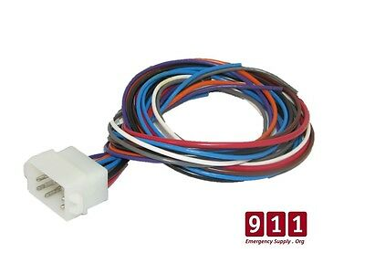 Whelen Replacement Siren Control / Power Harness Plug Cable 12 Pin 1 Foot Cord 1