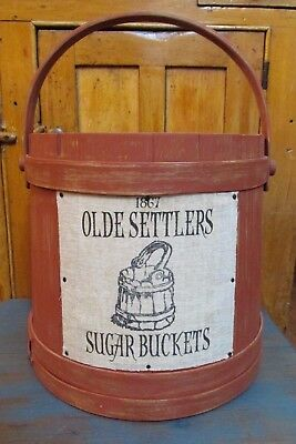 Antique / Vintage Large Firkin, Country, Farm House, Primitive