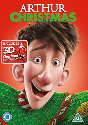 Arthur Christmas With Xmas Decoration DVD NEW
