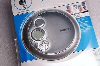 NEW Philips AX2400 /02 CD Player Discman Compact Disc JogProof CD-R CD-RW