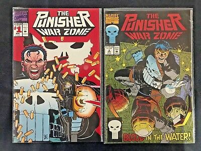 Punisher: War Zone - #1-10 - Near Mint - MARVEL Comic Books - FREE SHIPPING