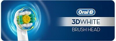 2 Pcs BRAUN ORAL-B Pro Bright / 3D White (GENUINE) Toothbrush Replacement Heads