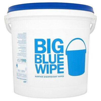 Pal Big Blue Wipe Surface Disinfectant Wipes x 1000, Kitchen, Catering, Hotel