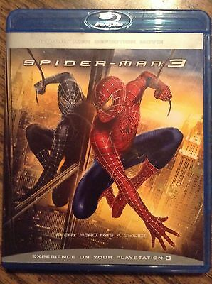 Spider-Man 3 Bluray Movie