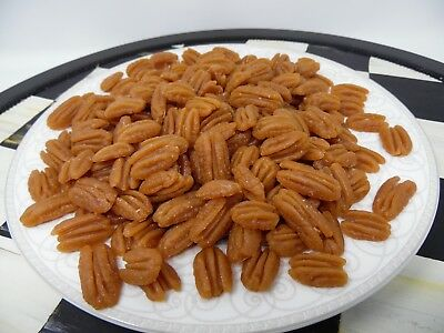 1 lb PECAN HALVES WAX FAKE FOOD EMBEDS FAUX FOOD DISPLAY CANDLE MAKING MELTS