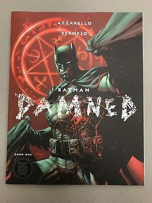 BATMAN DAMNED VARIANT UNCENSORED Azzarello Bermejo DC BLACK LABEL 1st Print*