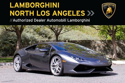 2015 Lamborghini Huracan LP610-4  HURACAN*NAVIGATION+CCB+REAR VIEW CAMERA+DYNAMIC POWER STEERING+LIFTING SYSTEM