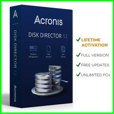 Acronis Disk Director 12 Data Recovery + BOOT CD ✔️ Lifetime ✔️ Multi-language
