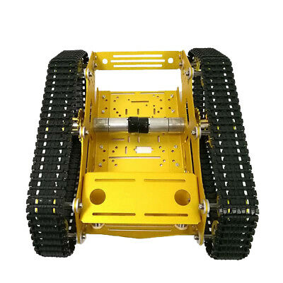 Robot Smart Tank Chassis DIY 7-12V & High Power Motor Light Shock Absorbed