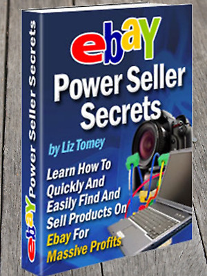 Ebay Power seller secrets &10 free marketing online ebooks Resell rights Pdf MRR