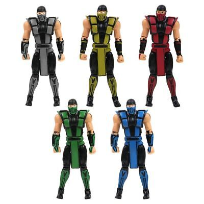 "Mortal Kombat Series X Scorpion 10cm / 4"" PVC Action Figure Toy Gift Collectible"