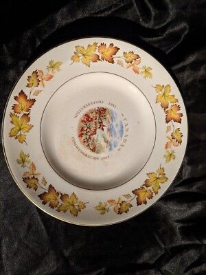 Canada Confederation Commemoration 1867 1967 Decorative Plate Barratt England