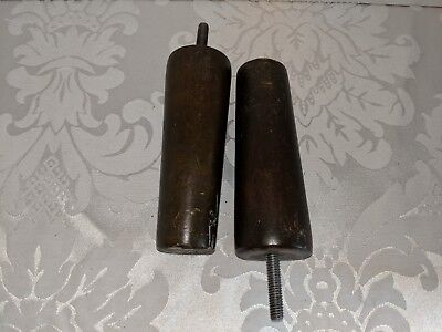 Vintage Furniture Wood legs set of 2
