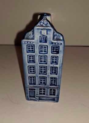 VINTAGE Delft Blue Hand painted Canal House Pepper Shaker 647 DELFTS BLAUW