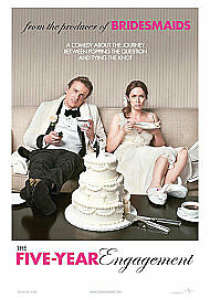 The Five Year Engagement (Blu-ray, 2012) -NEW & SEALED