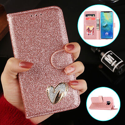 Luxury Flip Leather Wallet Stand Case Cover Skin For Huawei P20 Lite Mate 20 Pro