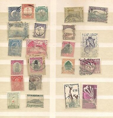 ++ OFFER World Mixed Lot of Interesting Stamps / Collection Kiloware Konvolut