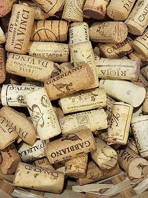100 Wine Bottle Corks Mixed (USED) Weddings/Craft All Natural USPS Priority