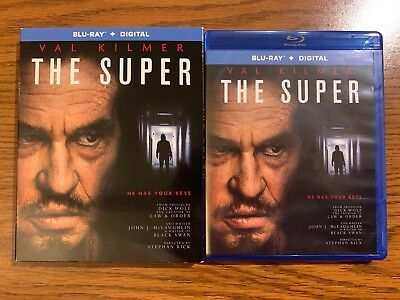 The Super (Blu-ray Disc, 2018) Val Kilmer - LIKE NEW, NEVER USED