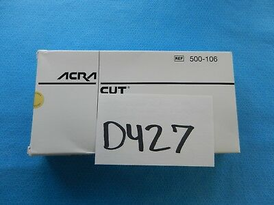 Acra-Cut Surgical Orthopedic Neuro Clips 500-106 Box Of 30
