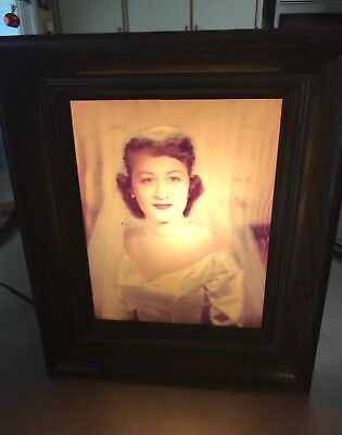 "Vintage Vuette Photo Slide Illuminator 9x11""  Light Box"