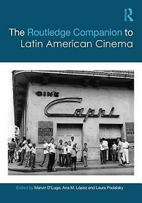 The Routledge Companion to Latin American Cinema (English) Hardcover Book Free S