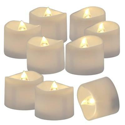Homemory 72 Pack Flameless Flickering LED Tealight Candles Battery Operated Voti
