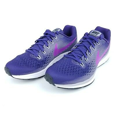 58f6d4fb89677 Nike Air Zoom Pegasus 34 Womens Running Shoes 880560 500 Hyper Violet Size