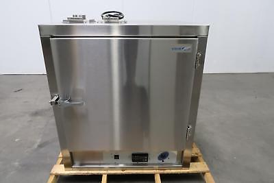 VWR 1601 Stainless Steel Horizontal Air Flow Oven 40C to 200C 16x19x19 3.7 Cu Ft