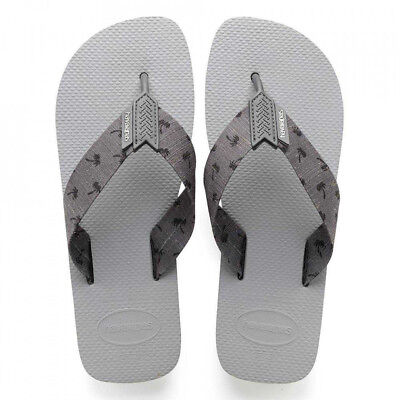 a8e418a3a 2018 NWOT MENS HAVAIANAS URBAN SERIES SANDALS  36 9 10 Ice Grey  Steel Grey