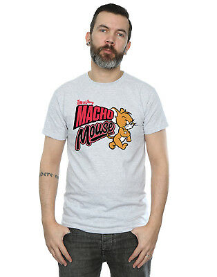 Tom And Jerry Men's Macho Mouse T-Shirt
