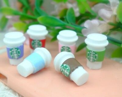Miniature Dolls House Accessories Starbuck's Coffee Cup with lid:12th scale