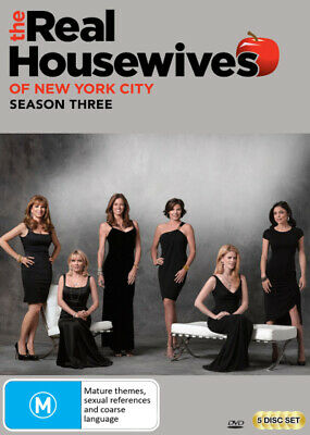 Real Housewives of New York City: Season 3  - DVD - NEW Region 4