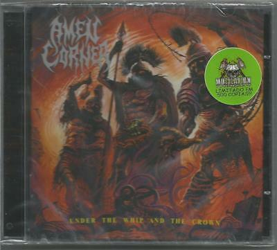AMEN CORNER Under The Whip And The Crown CD 2018 braz black mystifier emperor