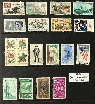 1964 US Commemorative Year Set (Complete) #1181, 1242-1260 MNH  FREE SHIPPING