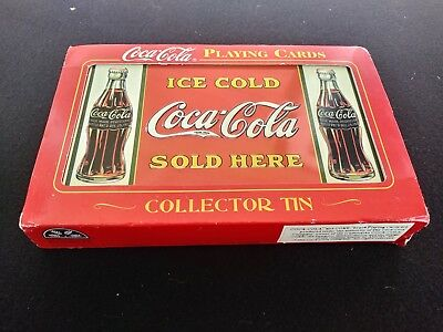 💥 🔥 Vtg  Coca Cola COKE ~ new Sealed 2 set Playing Cards ~ Made in USA