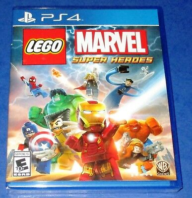 LEGO Marvel Super Heroes PlayStation 4 *New! *Factory Sealed! *Free Shipping!