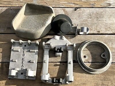 Fire Truck Accesory Lot—6 Pieces—2 Wrench Holders—Coupling Mount