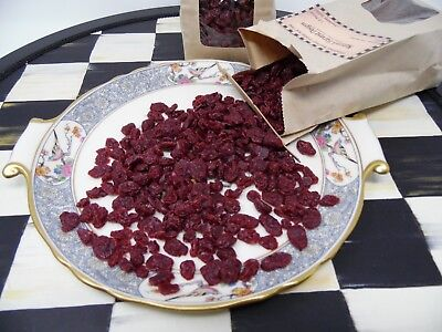 1/2 lb CRANBERRY RAISINS FOR CANDLE MAKING FAKE FOOD PROP WAX SCENTED TART MELTS