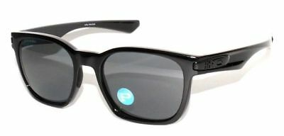 e5b9b32b66 Oakley Garage Rock POLARIZED Sunglasses OO9175L-L2 Polished Black W  Grey  Lens