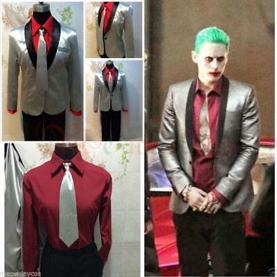 Xcoser The Joker Outfit Cosplay Costume Movie Suicide Squad