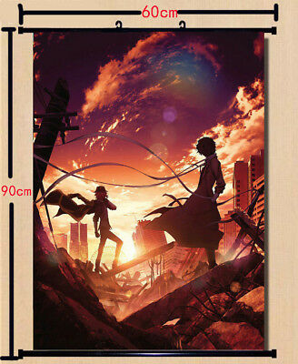 ANIME MOVIE WALL Scroll Poster Bungou Stray Dogs Art Home Decor collection  60X90