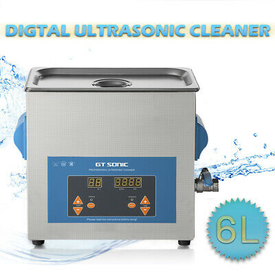 6L 300W Digital Ultrasonic Cleaner Ultra Sonic Tank Bath Cleaning Heater Timer