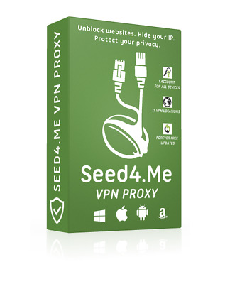 seed4.me VPN - 1 Year | Unlimited Traffic | Instant Delivery