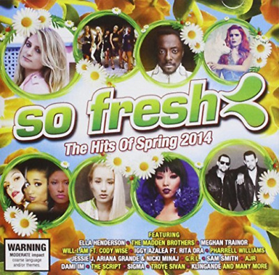 Various Artists-So Fresh The Hits Of Spring 2014 CD NEW