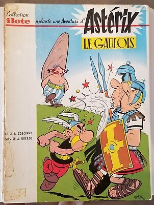 ASTERIX LE GAULOIS 2ème EDITION collection  PILOTE 1963 ( dos blanc ) RARE BD