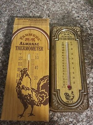 Avon Farmers' Almanac Thermometer With 2 Bars Of Gentlemen's Blend Soaps