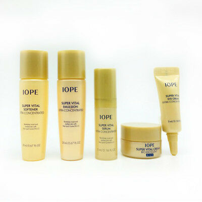 (Expiration:1/2019) [IOPE] Super Vital Cream RICH VIP Special Gift (5 items)