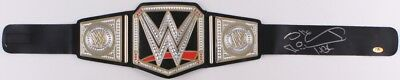 "Shawn Michaels Signed WWE World Heavyweight Championship Belt Inscribed ""HBK"" (M"