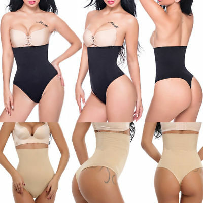 4b66b6ab9d03 Pants Seamless High Waist Thong Body Shaper G-String Tummy Control Underwear  Hot